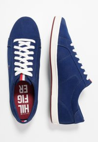 Tommy Hilfiger - ICONIC LONG LACE - Sneakersy niskie - blue - 1
