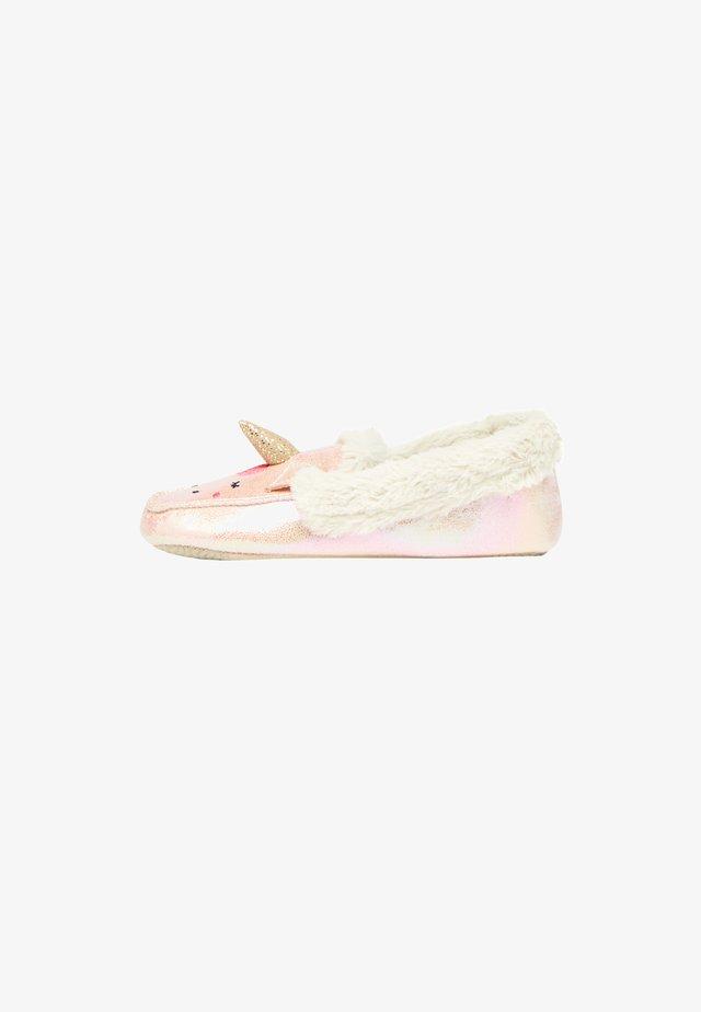 TWINKLE - Slippers - metallisch rosa