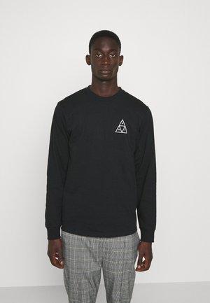 ESSENTIAL TEE - Pitkähihainen paita - black