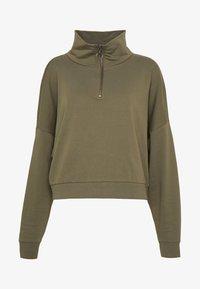 NMHALLY ZIP - Sweatshirt - kalamata