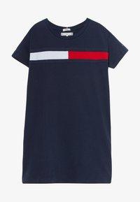 Tommy Hilfiger - FLAG DRESS  - Vestido ligero - blue - 2