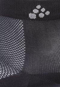 Craft - GREATNESS MID SOCK 3 PACK - Trainer socks - black - 1