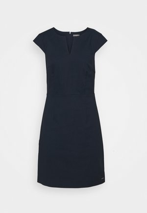 DRESS SIGNATURE SHIFT - Shift dress - sky captain blue