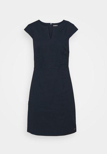 DRESS SIGNATURE SHIFT - Shift dress - sky captain blue