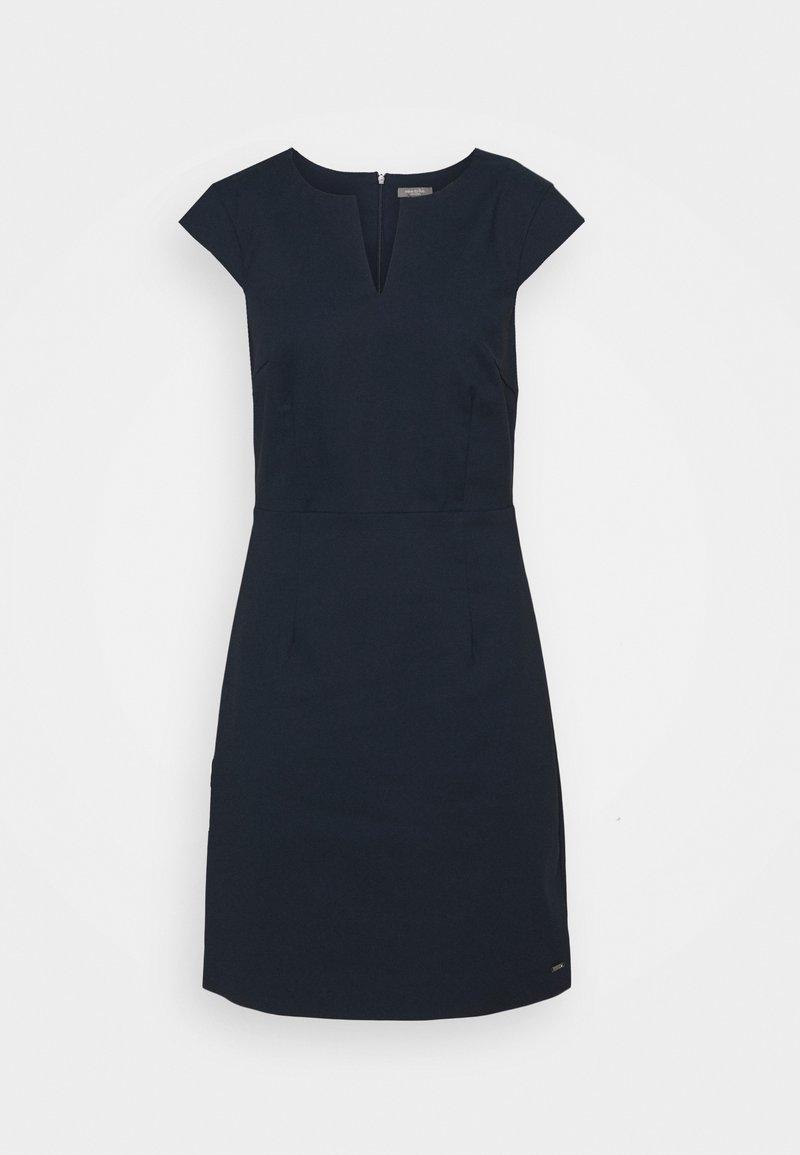 mine to five TOM TAILOR - DRESS SIGNATURE SHIFT - Shift dress - sky captain blue