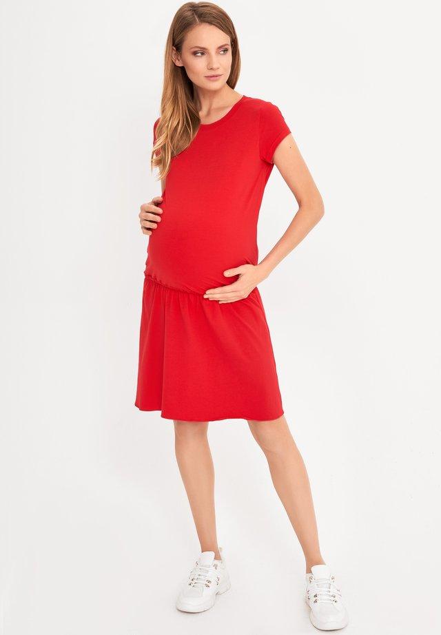 MATERNITY & NURSING  BASIC - Jerseyjurk - red