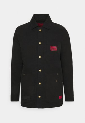 LONGLINE WORKWEAR JACKET - Korte jassen - black