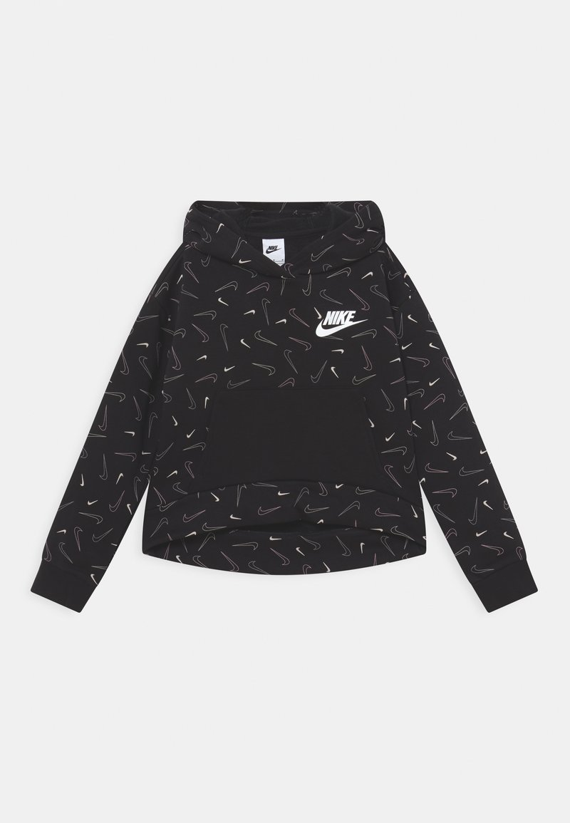 Nike Sportswear - HOODIE - Sweatshirt - black/white