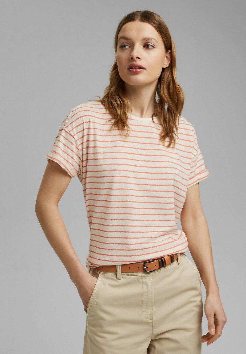 Esprit - Print T-shirt - orange red