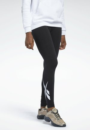 CLASSIC VECTOR FOUNDATION CASUAL - Leggings - Trousers - black