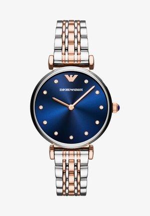 Watch - silver-coloured/roségold-coloured