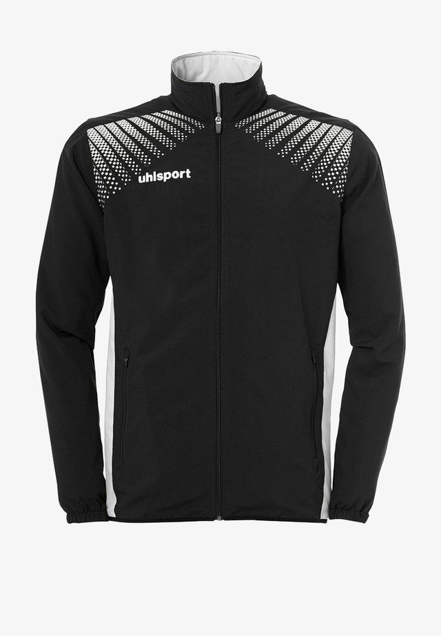 Training jacket - schwarz / weiß