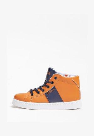 Sneakers hoog - orange mehrfarbig
