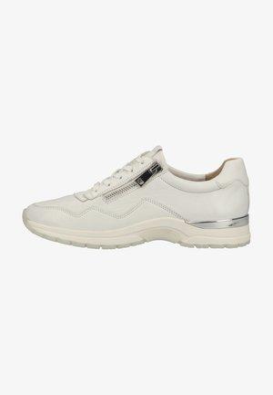 Sneakers laag - white softnappa