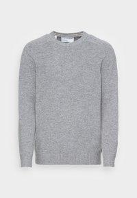 SLHNEWCOBAN - Neule - medium grey melange