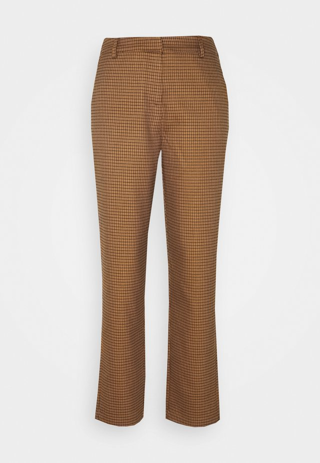 YASRUBA CROPPED PANT - Trousers - brown