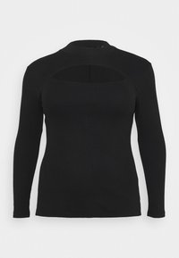 Vero Moda Curve - VMSANDRO - Long sleeved top - black - 3