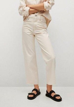 JULIETA - Flared Jeans - ecru