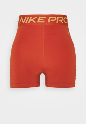 SHORT HI RISE - Leggings - firewood orange/amber brown