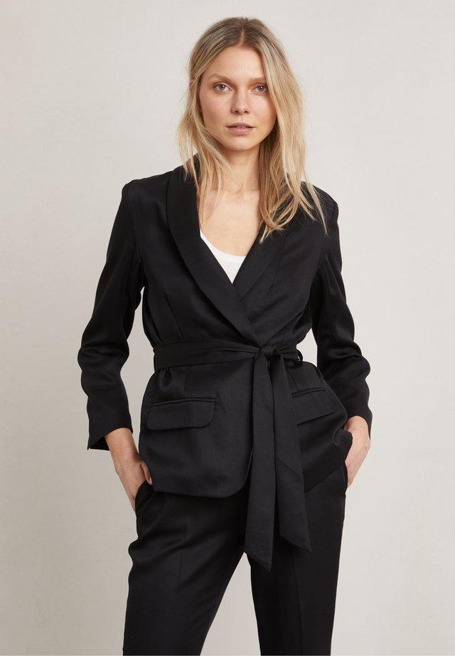 BARBARA - Blazer - dark evening black