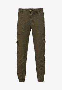 WE Fashion - Cargobroek - army green - 0