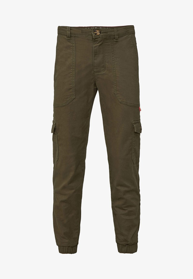 WE Fashion - Pantalon cargo - army green