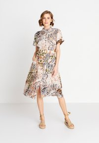 Ivko - PRINTED SAFARI - Day dress - white coffee - 1