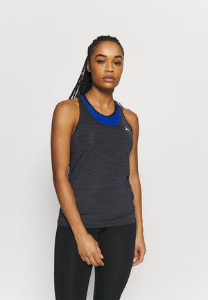 ATHLETIC TANK - Sports shirt - black