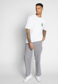 Obey Clothing - HARDWORK PANT - Chino kalhoty - white multi - 1