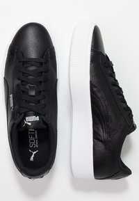 Puma - VIKKY STACKED - Trainers - black