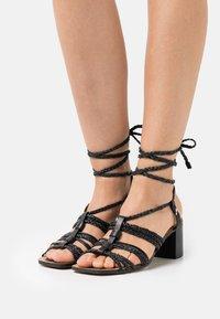 ASRA - JENSON - Sandals - black - 0