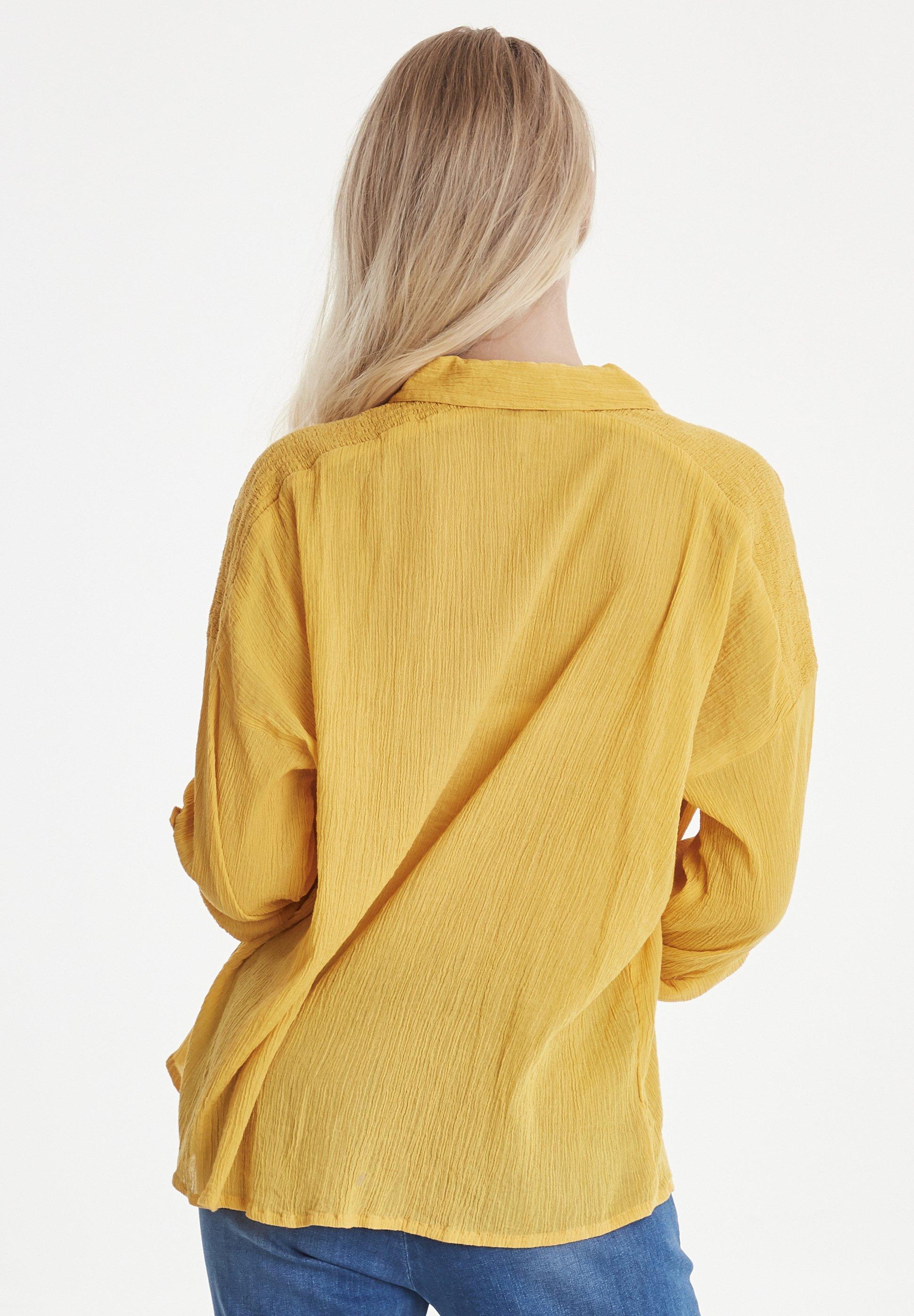 Pulz Pzmarion - Overhemdblouse Artisan\'s Gold
