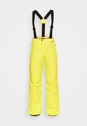 FIDELITY - Snow pants - yellow