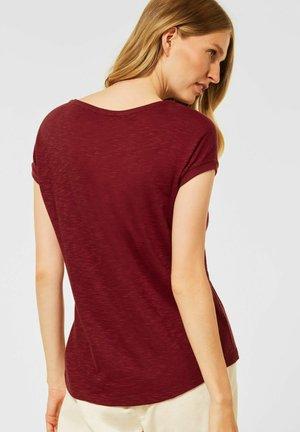IN UNIFARBE - Basic T-shirt - braun