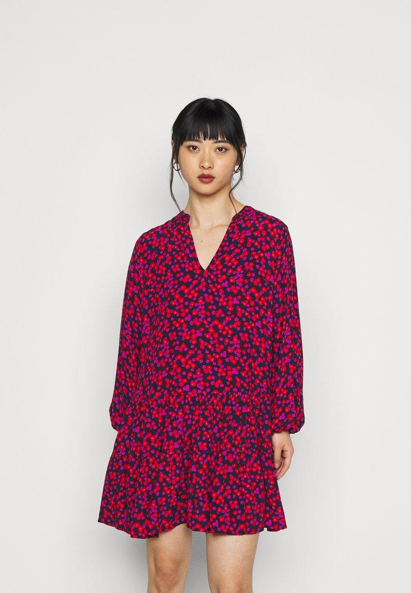 GAP Petite - TIERED MINI - Day dress - pink