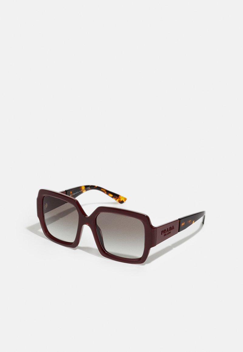 Prada - Sunglasses - bordeaux/havana