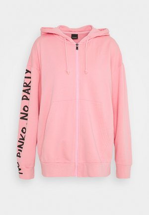 CIVICA FELPA - Zip-up hoodie - pink