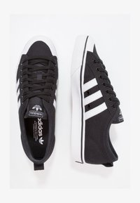 adidas Originals - NIZZA - Trainers - cblack/ftwwht/ftwwht - 1