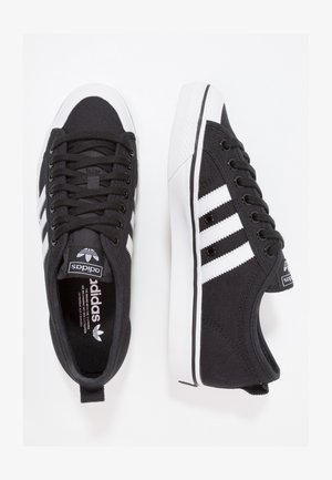 NIZZA - Sneakers basse - cblack/ftwwht/ftwwht