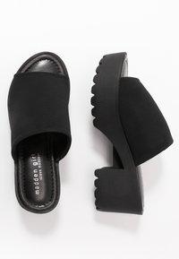 Madden Girl - CHUCKY - Heeled mules - black - 3