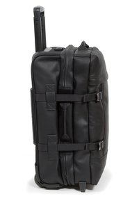 Eastpak - TRANVERZ S LEATHER REISEGEPÄCK - Trolleyväska - black ink - 4