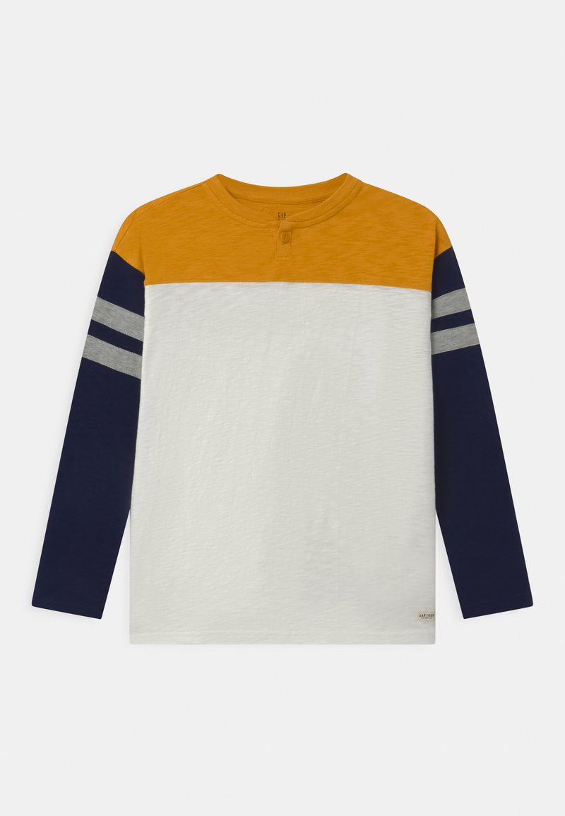 GAP - BOY - Long sleeved top - rugby gold