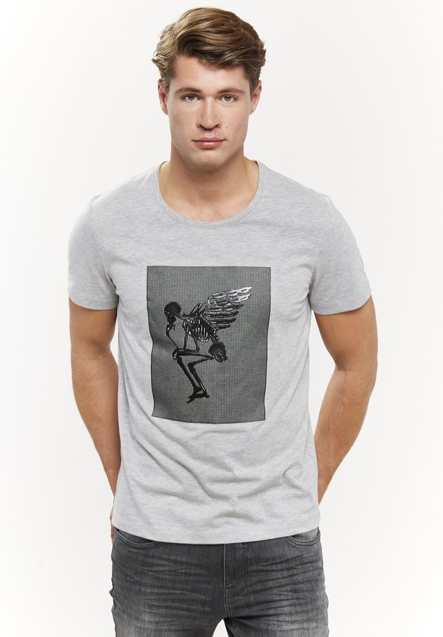 ENGEL - T-shirts print - grau