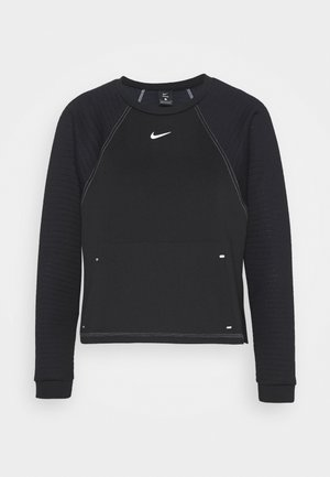 LUX DRY CREW - Sweatshirt - black/silver