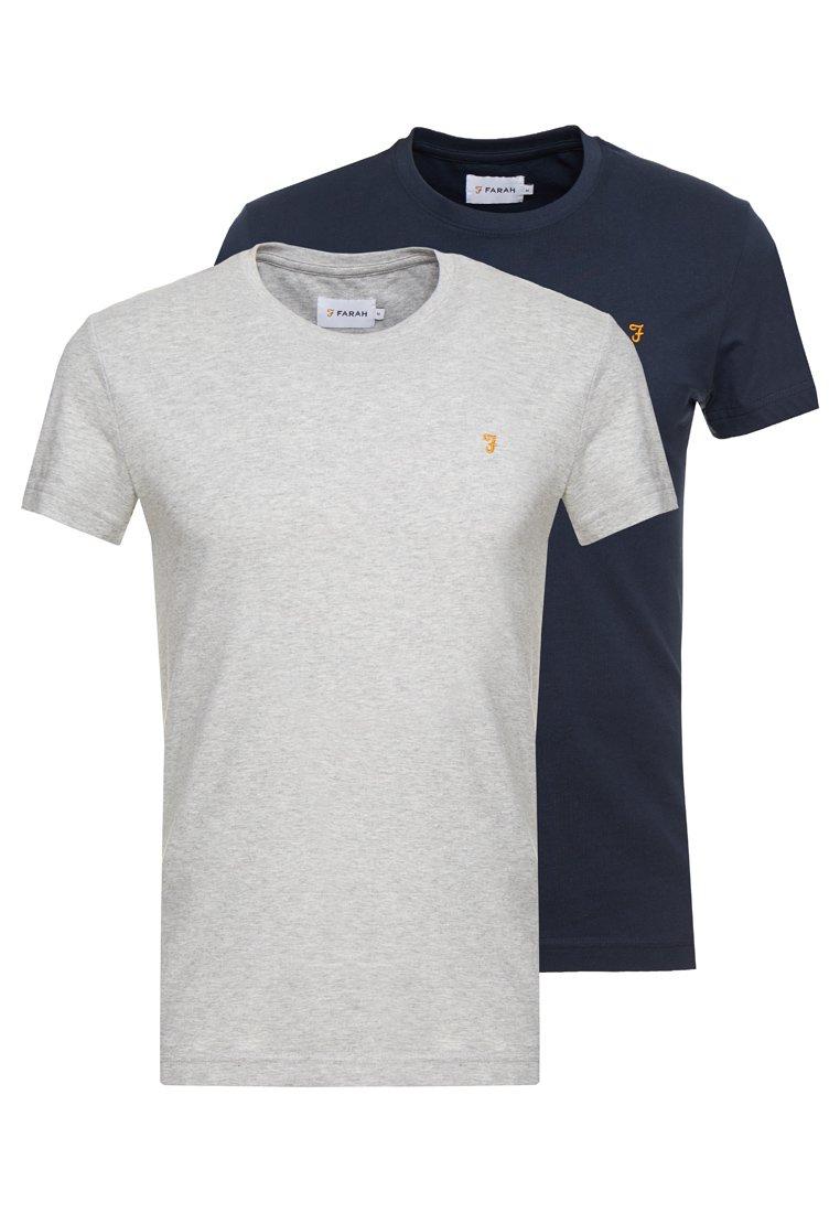 Homme FARRIS TWIN 2 PACK - T-shirt basique