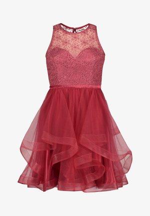 MIT PAILLETTEN - Cocktail dress / Party dress - sweet raspberry
