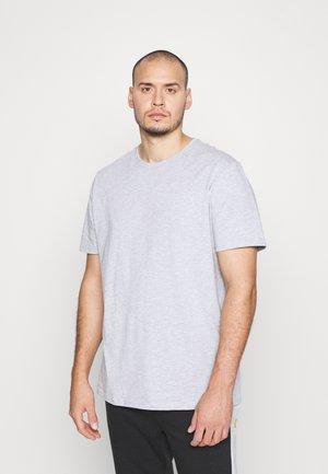 T-shirt - bas - mottled grey
