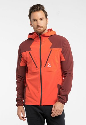 TEGUS  - Training jacket - habanero/maroon red
