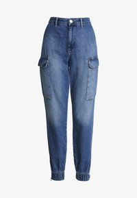 Trousers - blue denim