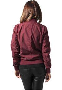 Urban Classics - Bomber Jacket - burgundy - 1
